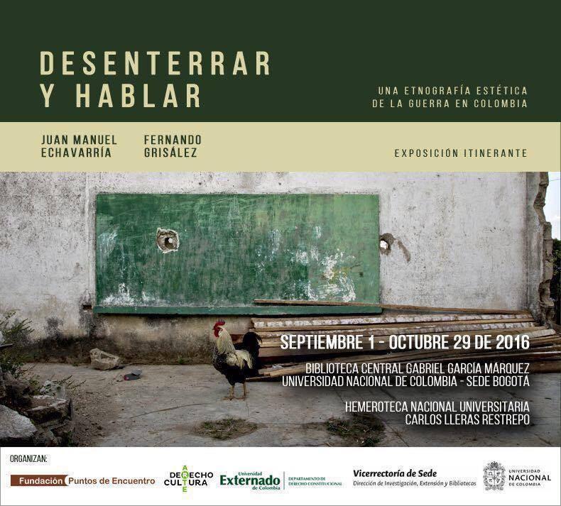 Desenterrar y hablar una etnografía estética de la guerra en Colombia