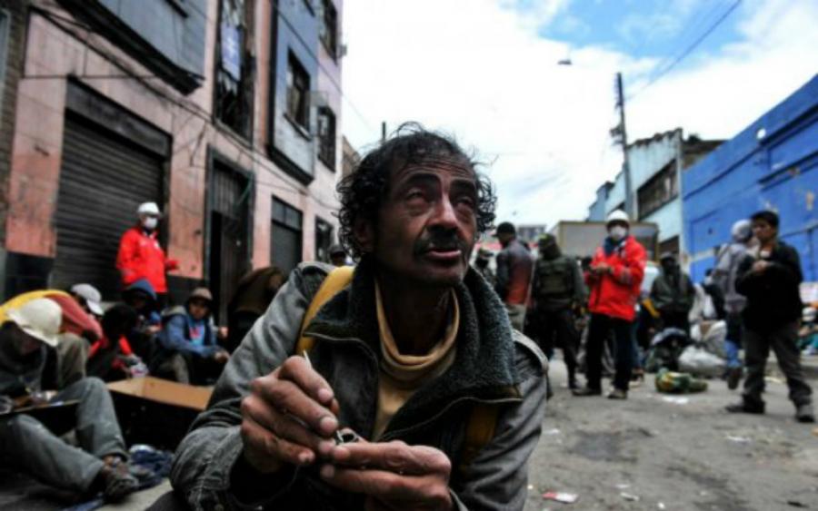 Habitantes de las calles, un reflejo de la políticabogotana