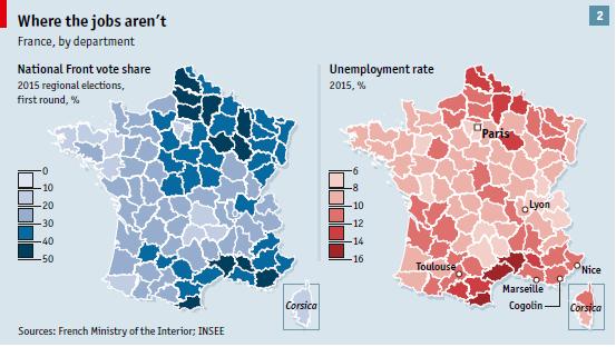 Mapa de Economist