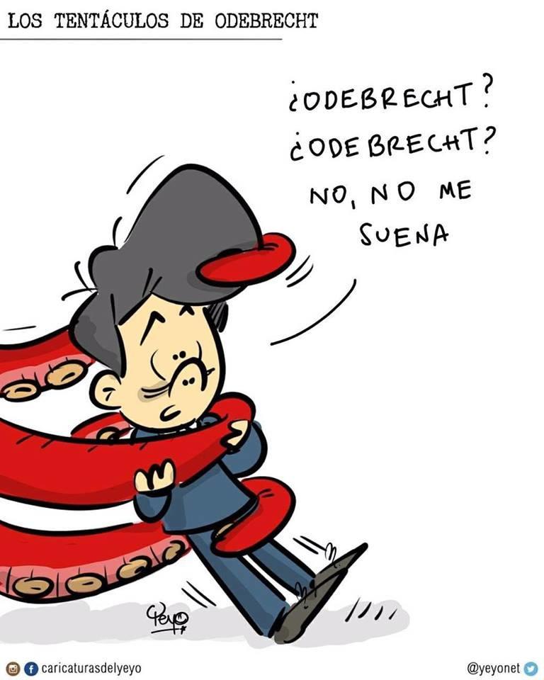 """Odebrecht: El descarado """"tapen-tapen"""" de Santos yUribe"""